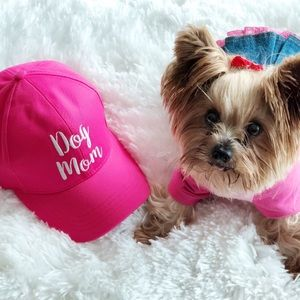 Accessories - 🐾🐾DOG MOM EMBROIDERED CC BALL CAP